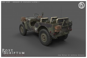 Jeep Willys 1stAirborne Studio 02