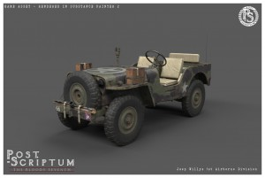 Jeep Willys 1stAirborne Studio 04
