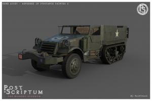 M3Halftrack Studio 01