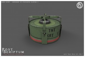 Anti Tank Mine GS Mk V Studio 01
